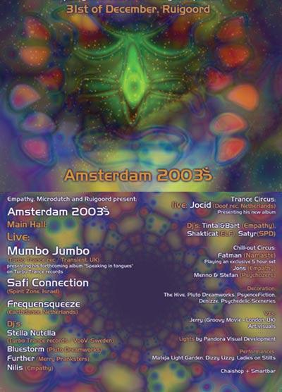 AMSTERDAM 2003`~ 31 Dec '02, 22:30