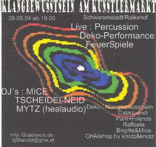 KLANGBEWUSSTSEIN am Kunstlermarkt 28 May '04, 17:30