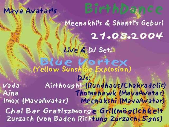 Maya Avatars Birthdance 21 Aug 2004 Zurzach Switzerland