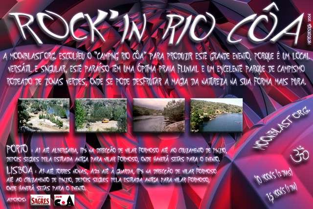"""10-11-12 Setembro """"Rock´in rio Côa"""" (Portugal (Guarda)) 10 Sep '04, 22:00"""