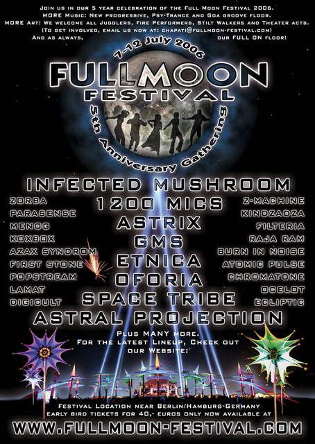 Fullmoon Festival Germany 2006 · 7 Jul 2006 · near Berlin
