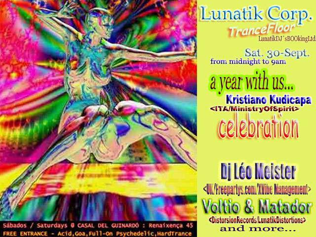 Celebration @ Lunatik TranceFloor 30 Sep '06, 23:30