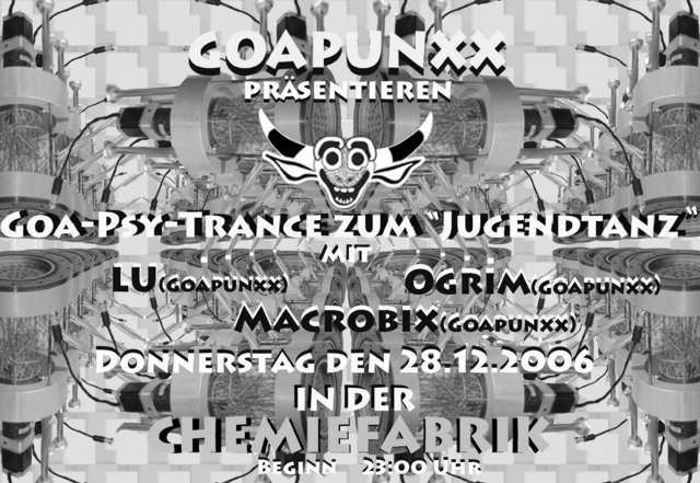 """Goa-Psytrance zum """"Jugendtanz"""" 28 Dec '06, 23:00"""