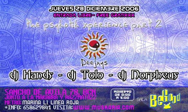 www.muskaria.com:::Psykotik Xperience volII @ Begood - FREE 28 Dec '06, 23:30