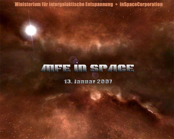 MfE inSpace 13 Jan '07, 23:00