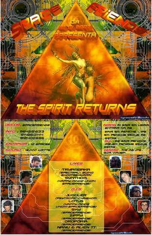 Click Details: THE SPIRIT RETURNS