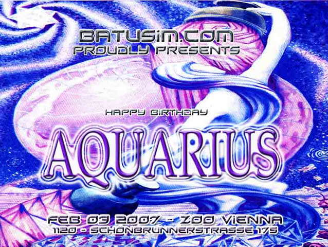 * AQUARIUS 2007 * 3 Feb '07, 20:00