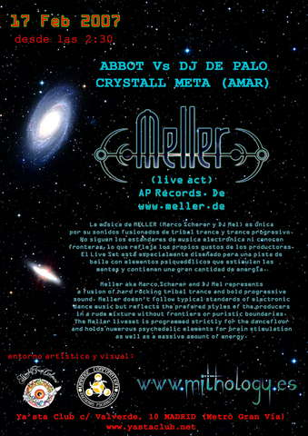 Mithology and MELLER (AP RECORDS, GERMANY) 17 Feb '07, 02:30