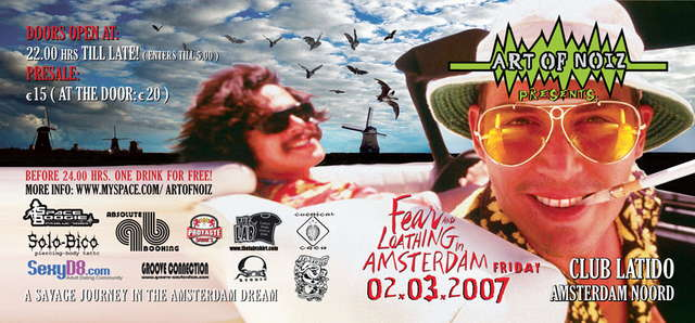 Fear and Loathing in Amsterdam 2 Mar '07, 22:00