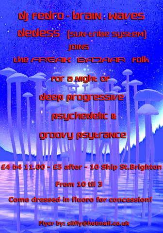 FREAK BAZAAR 27 Apr '07, 22:00