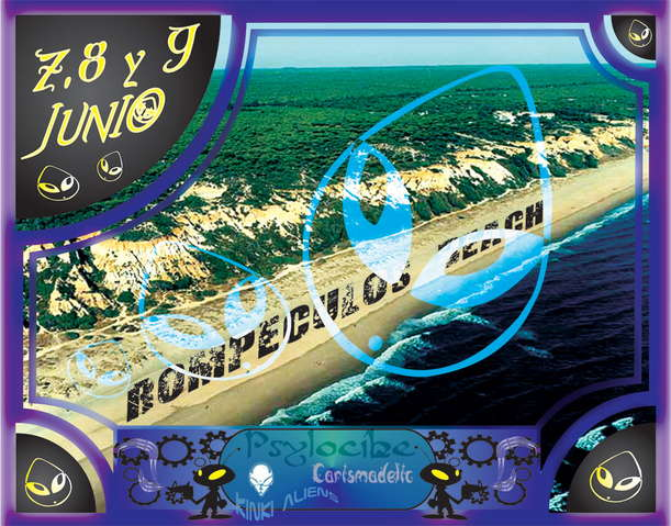 WELCOME TO................. ROMPECULOS BEACH 8 Jun '07, 22:00