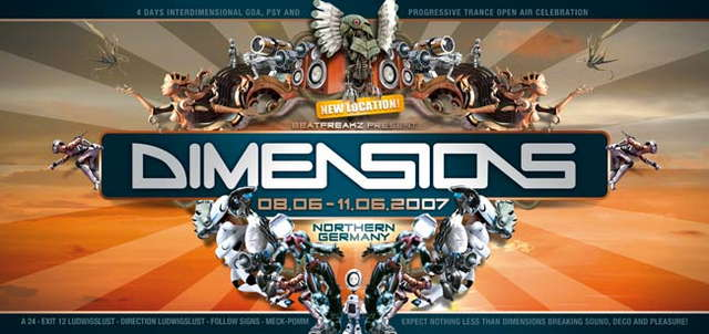 *****DIMENSIONS OA FESTIVAL by beatfreakz***** 8 Jun '07, 22:00