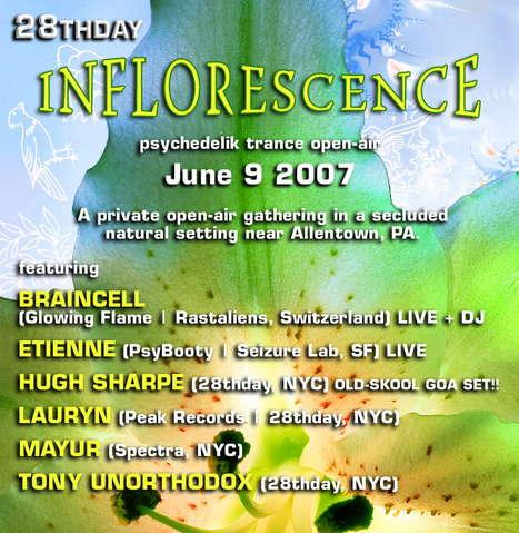 28thday pres: Inflourescence 9 Jun '07, 23:00