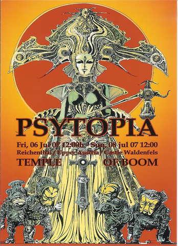 Psytopia - The Temple of b00m 6 Jul '07, 12:00