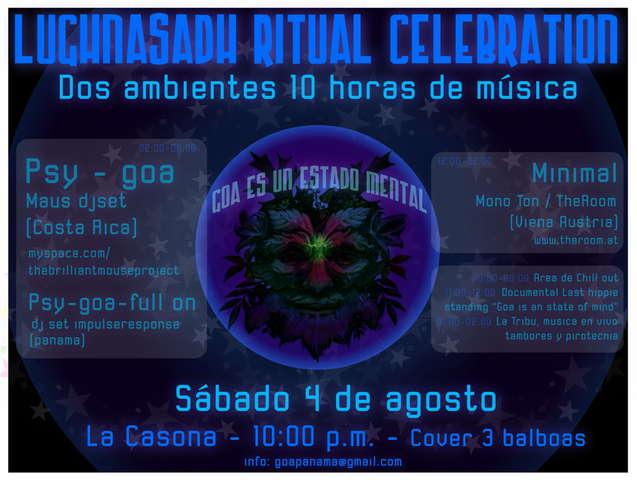 Lughnasadh Ritual Celebration 4 Aug '07, 22:00
