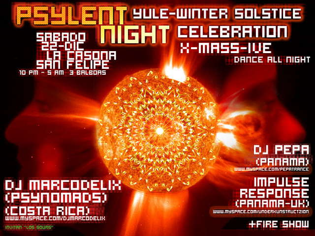 Psylent night 22 Dec '07, 22:00