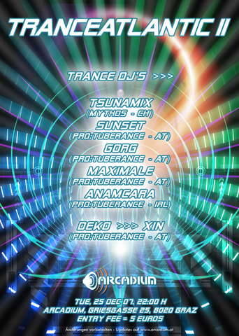 TranceAtlantic II 25 Dec '07, 22:00