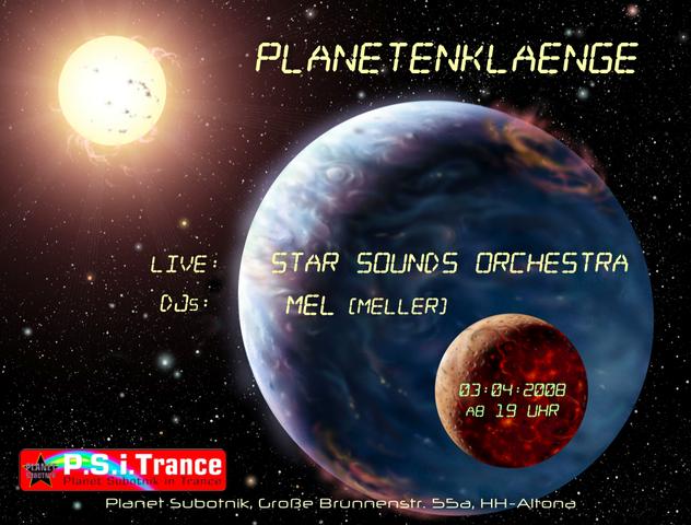 Planet Subotnik in Trance - Planetenklänge (SSO) 3 Apr '08, 19:00