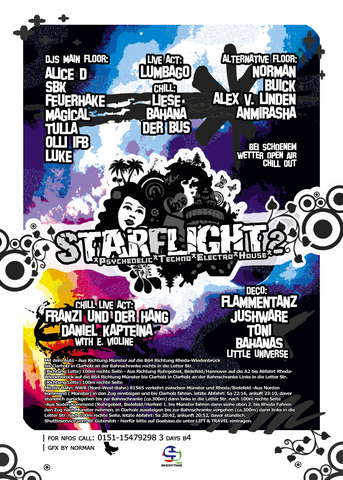 *****Starflight 2nd Trip***** on 3 floors -SBK, Feuerhake- 31 May '08, 22:00
