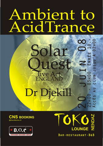 Ambient to Acid Trance DJ Solar Quest UK · 20 Jun 2008 · Nendaz 1997