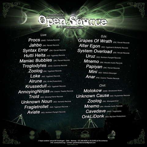 Open Source 5 Sep '08, 18:00