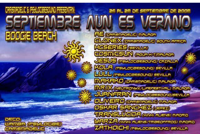 ..:: Septiembre Aún Es Verano ::.. 26 Sep '08, 22:00