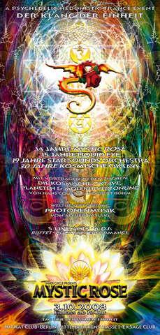 The 14 Year Mystic Rose Celebration---DER KLANG DER EINHEIT 3 Oct '08, 19:00
