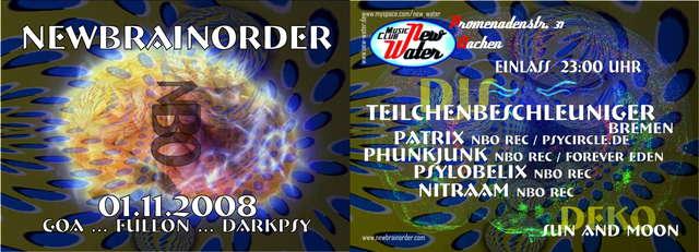 New Brain Order 1 Nov '08, 23:30