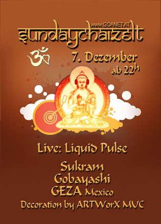 SUNDAYDRY!ZELT - Party with Heart! 7 Dec '08, 23:00