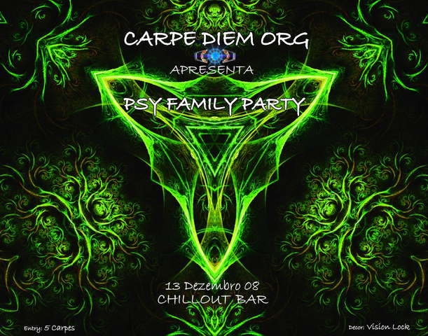 Party flyer: Carpe_Diem 13 Dec '08, 23:00