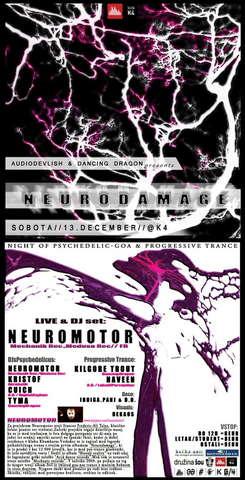 NEURODAMAGE 13 Dec '08, 23:00