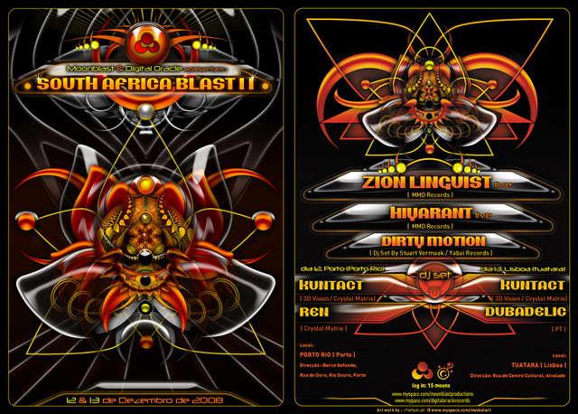 ***-- South African Blast II --*** Moonblast & Digital Oracl 13 Dec '08, 23:30