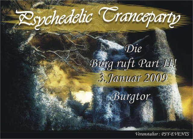 Die Burg ruft! Part II 3 Jan '09, 22:00