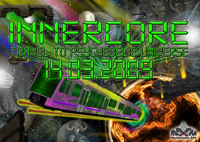 Project Innercore - Travel To Psychedelic Universe 14 Mar '09, 21:00