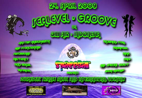 Party flyer: SEALEVEL GROOVE 24 Apr '09, 18:00