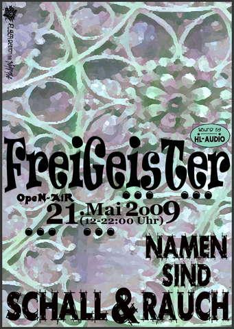 Namen Sind Schall Und Rauch Oa Ud 21 May 2009 Hamburg