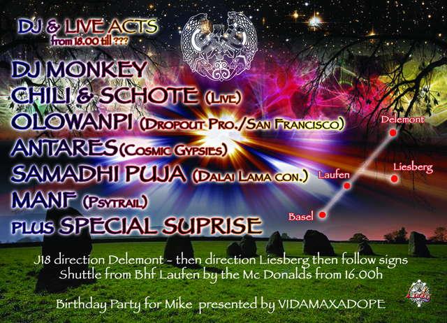 Area 51 presents MONDTANZ 1 Aug '09, 18:00