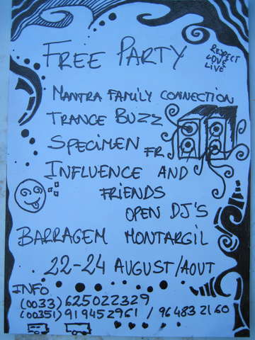 MANTRA FAMILY CONNECTION 21 Aug '09, 22:00