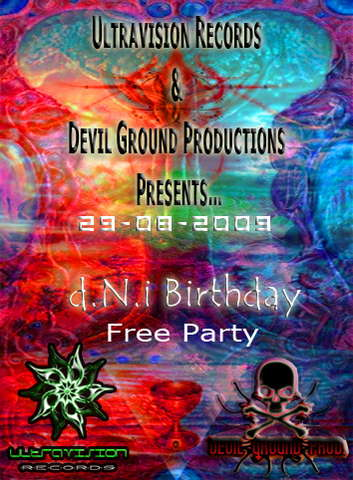 Click Details: Ultravision Recs & Devil Ground Prod Presents d.N.i Birthday