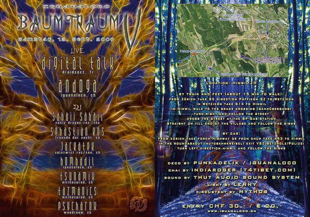 BAUMTRAUM V 12 Sep '09, 21:00