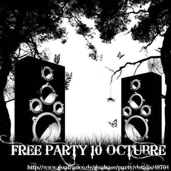 FREE PARTY 10 Oct '09, 22:00