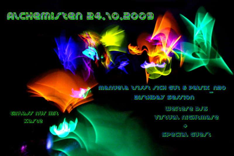 Alchimist mit SHAWNODESE 24 Oct '09, 22:00