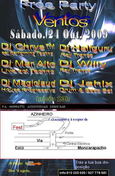 VENTOS - Free Party 24 Oct '09, 23:00