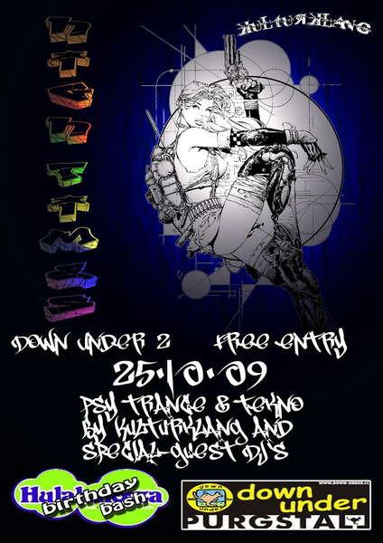 HiGh TiMeS - DoWn UnDeR 2 & first HULABALOOZA BIRTHDAY-BASH 25 Oct '09, 21:00