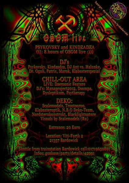 Halloween Dark Horror Night 2 with OSOM LIVE 31 Oct '09, 22:00