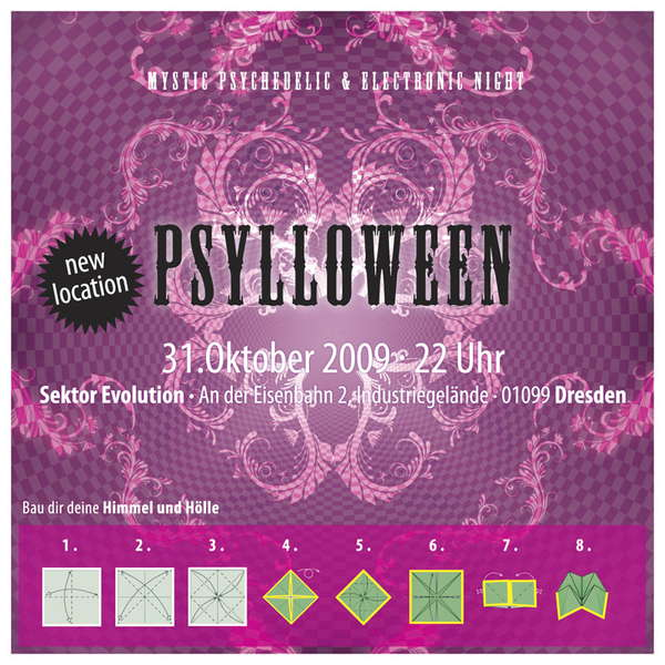 PSYLLOWEEN - mystic psychedelic & electronic night 31 Oct '09, 22:00