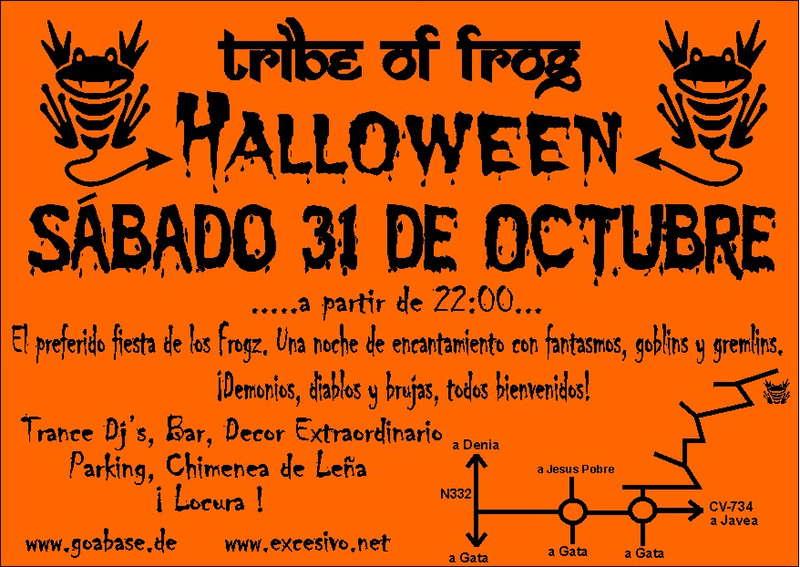 Tribe of Frog - Halloween Nightmare Fiesta from Hell 31 Oct '09, 22:00