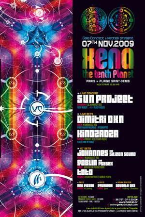 XENA the tenth planet 7 Nov '09, 22:30