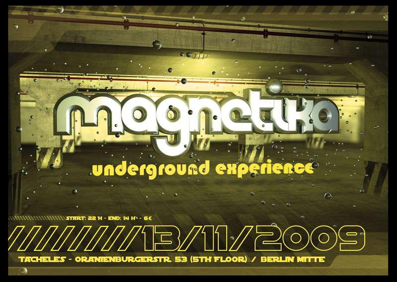 Magnetika 13 Nov '09, 22:00
