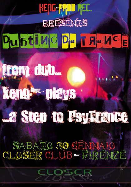 Dubting Da Trance 30 Jan '10, 23:30